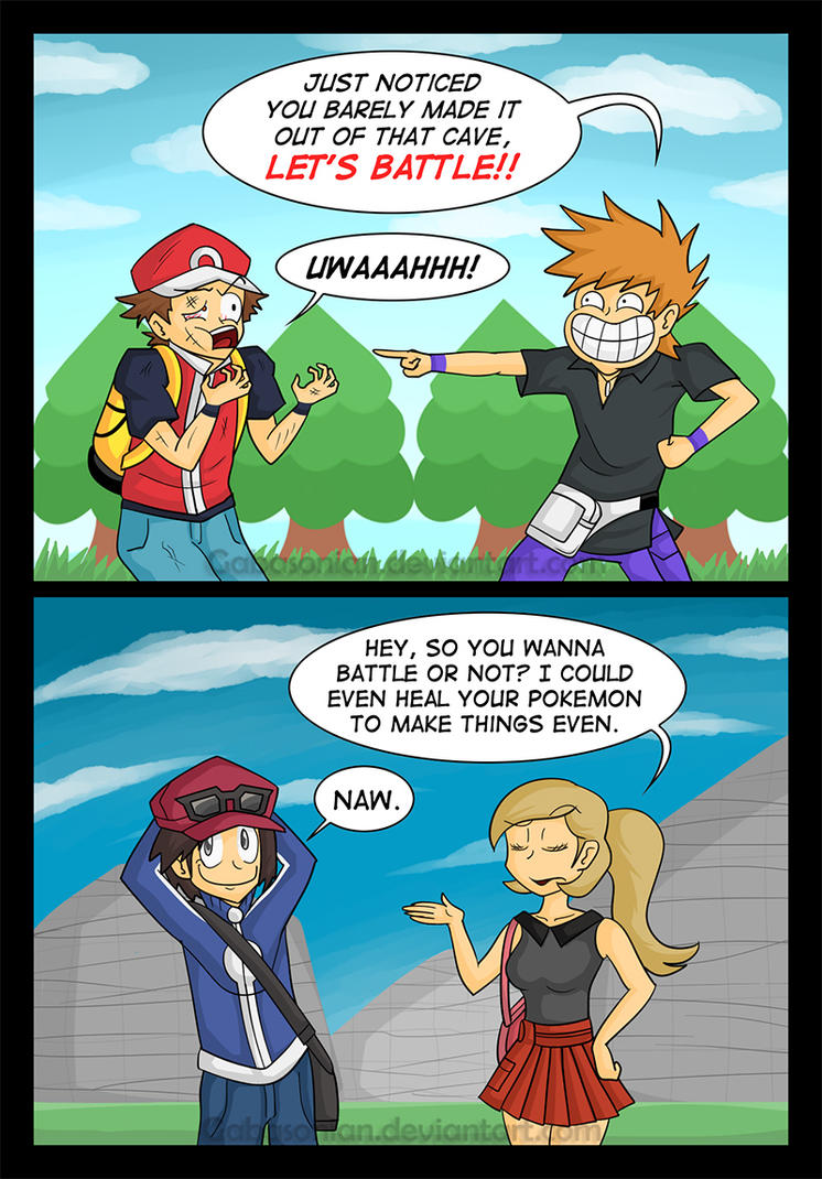 9 Most Annoying Cartoon Characters : Rival ing by gabasonian on deviantart