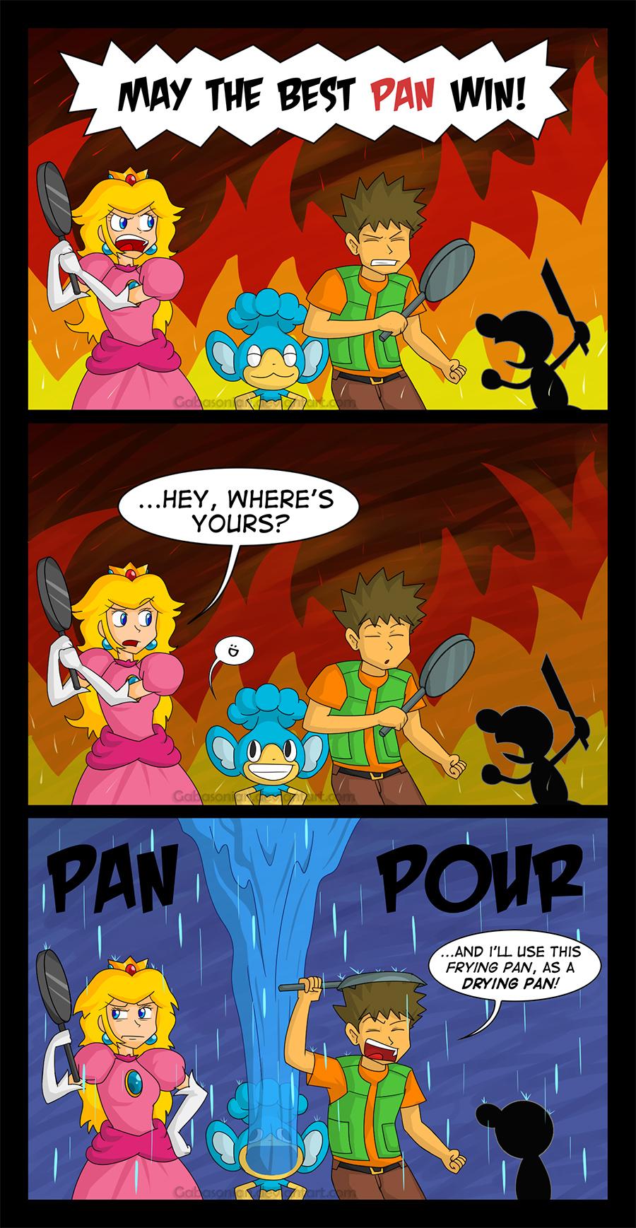 Pan + Pour