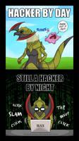 The Hacker Life by Gabasonian
