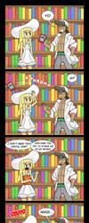 Lillie and Books (Comic + Dub) by Gabasonian