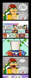 Bowser's Inspiration - Super Mario Odyssey by Gabasonian