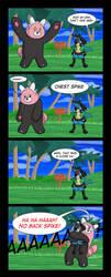 Beware of Chest Spike [Comic + Video] by Gabasonian