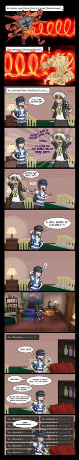 Guzma Beatdown - Comic and Comic Dub