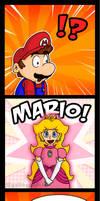 When Mario Sees Peach