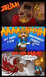 Zelda Meets Ganondorf - Breath of the Wild 2