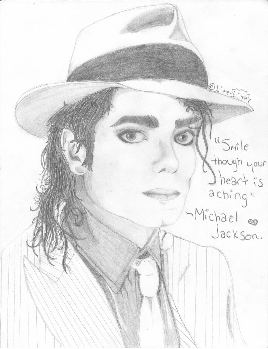 Michael Jackson by lime-lite on DeviantArt Easy Michael Jackson Drawing