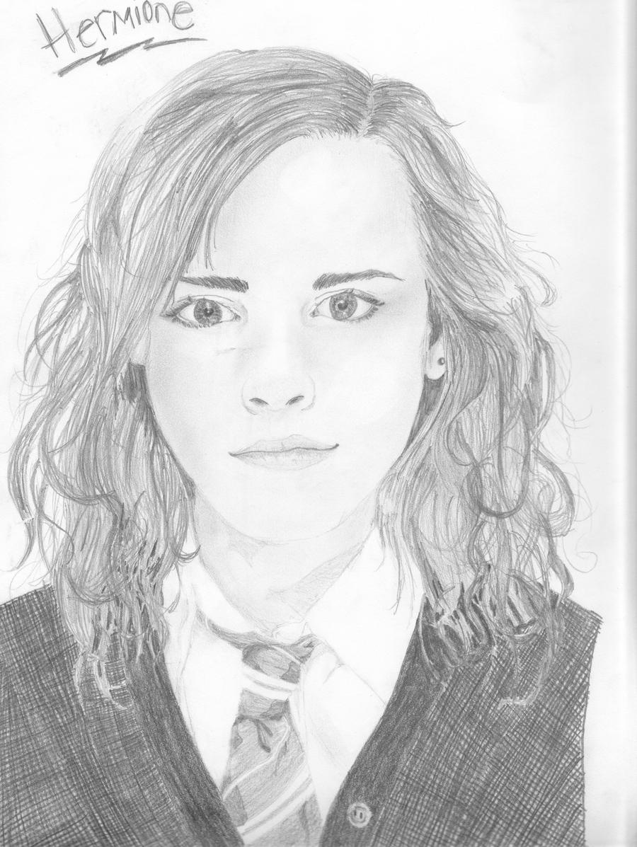 How To Draw Hermione Granger