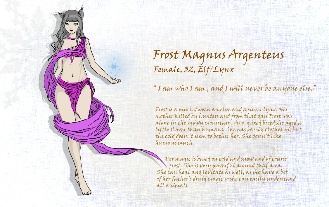 Frost Magnus Argenteus (OC)