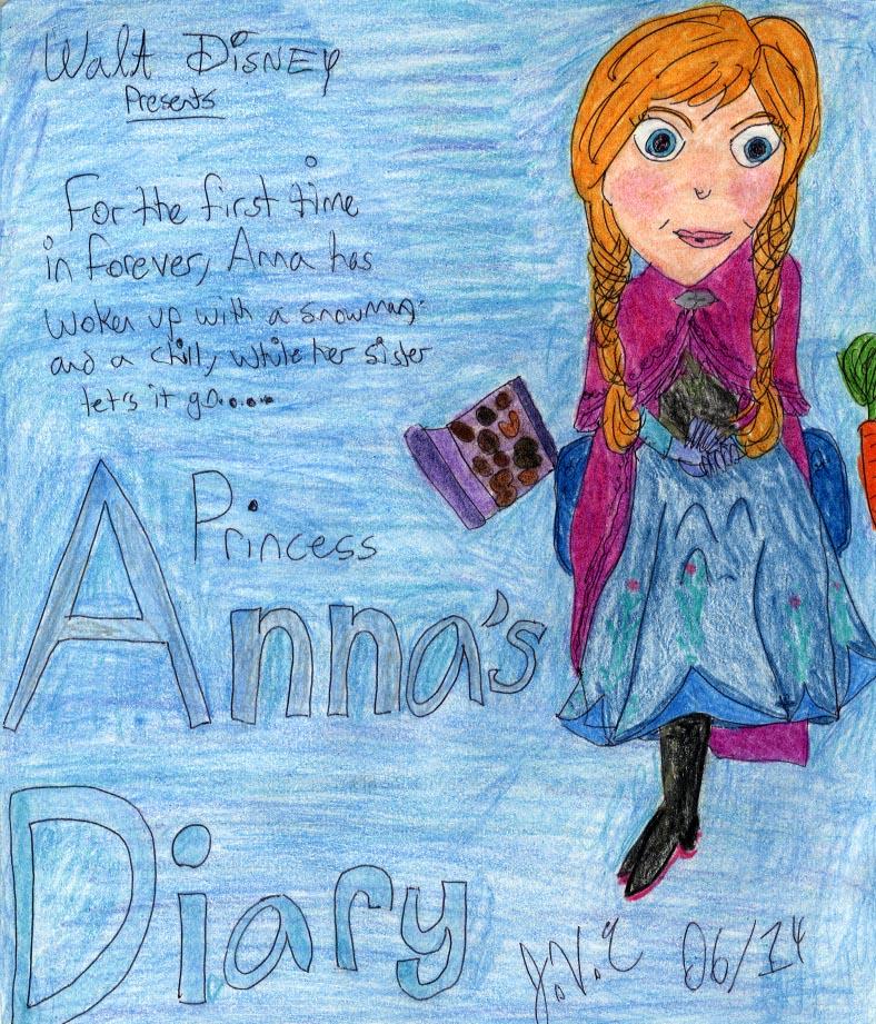 Walt Disney Presents: Princess Anna's Diary by Toongrrl
