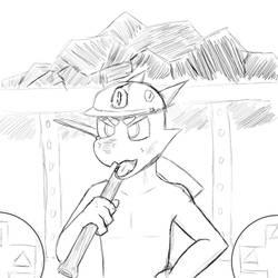 Miner sketch