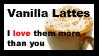 Vanilla latte Stamp by AcidicSubstance