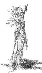 Kain - Final Fantasy IV by Sharky-chan