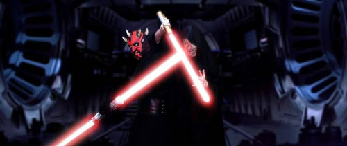 Darth Sideous and His Aprentice