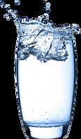 Water Splash With Transperent background