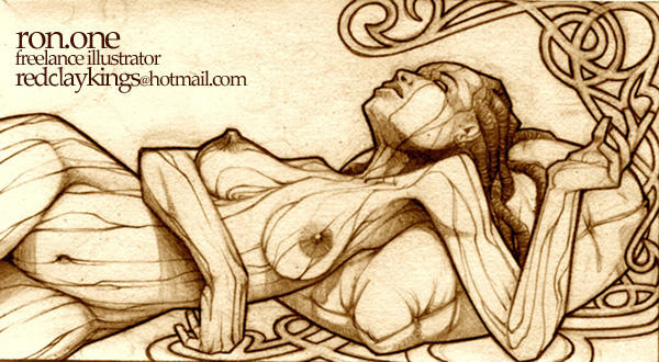 wooden woman 3rd submission by i1der