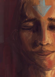 Avatar Aang by inject