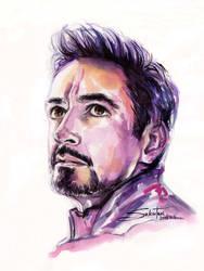 Tony Stark | Avengers Endgame by SakuTori