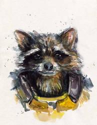 Rocket Raccoon by SakuTori