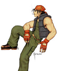 Ralf - King of fighters