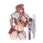 Barbarian Princess Sketch