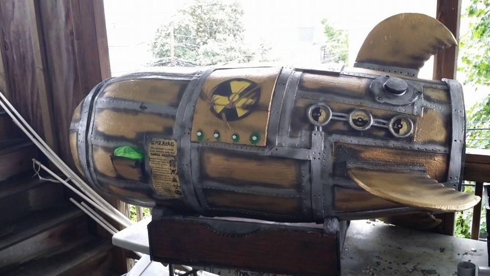 Omega Reactor by MortalMagus
