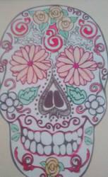 skull mexico