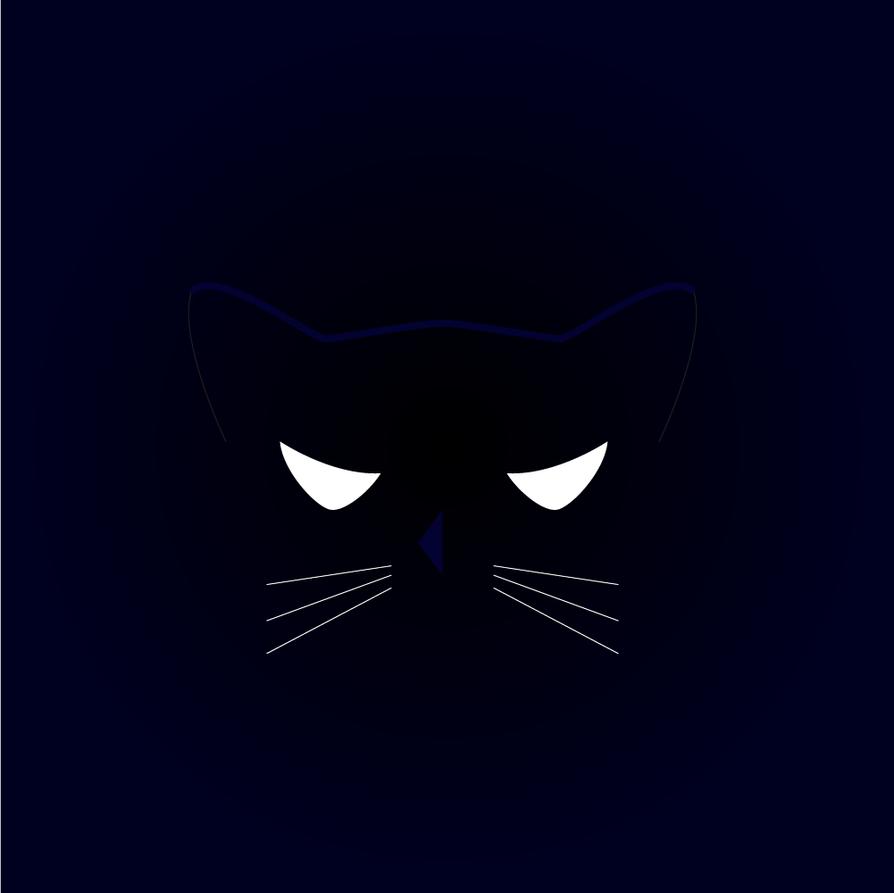 Minimalist Cat by raketa3 on DeviantArt