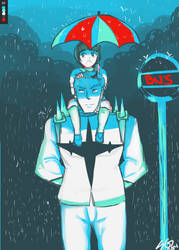 Rainy day by ShiroGinko