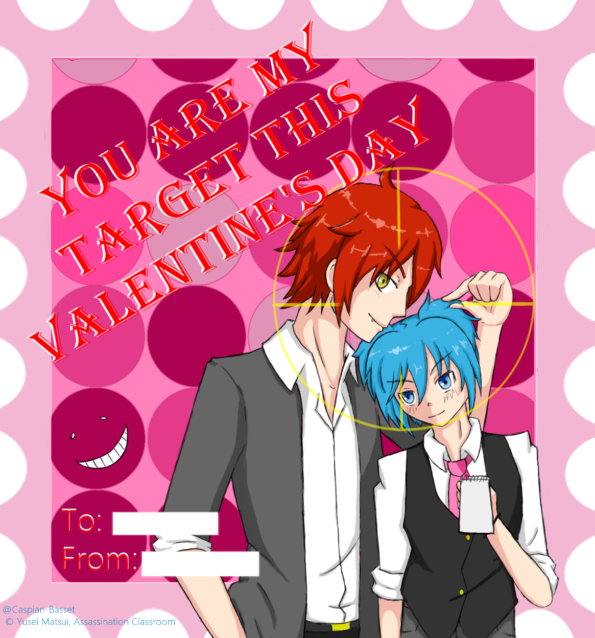 Happy valentines day contest entery by sealestial on - Happy valentines day anime ...