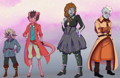 RPG characters!