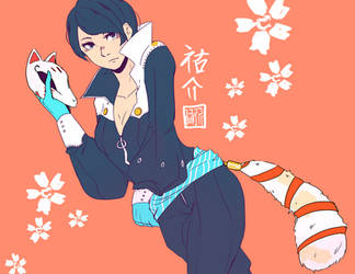 Yusuke-? by ReniMezi