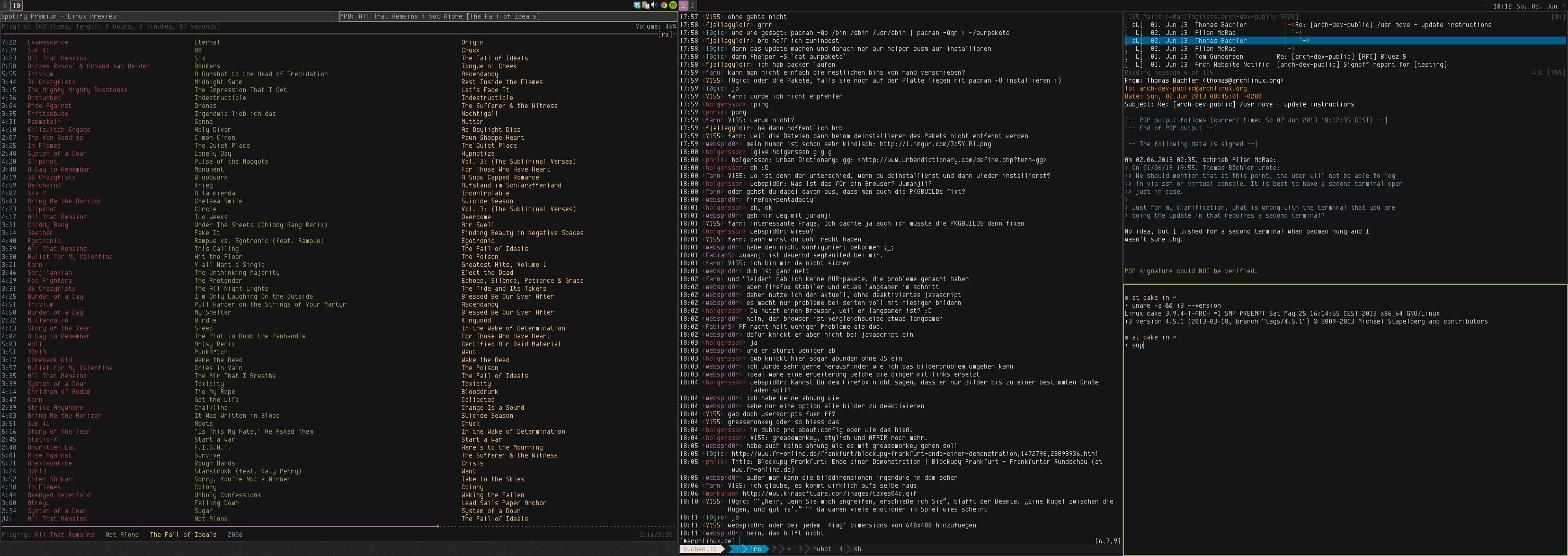Desktop - June 2013 by bl1nks
