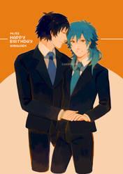 Happy Birthday Aoba and Ren 2020 !! by Sakanayo