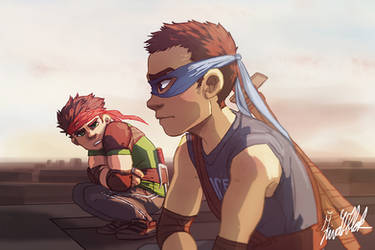 It's not about Sides, Raph by Fihuli