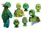 Amazonian Turtles Concept Art
