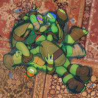 Rough and Tumble Turtle Pile