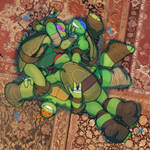Rough and Tumble Turtle Pile