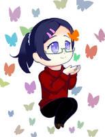 Chosen Butterfly by januaryglitterpanda