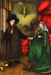 Arnolfini Wedding by Cotovatre
