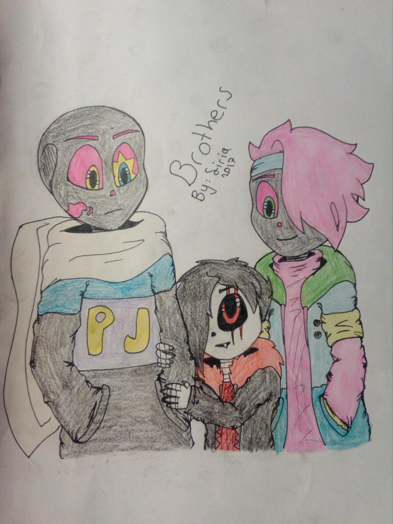 PJ, Sirius and Cil by Sirius1999
