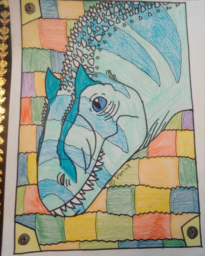 Allosaurus by Sirius1999