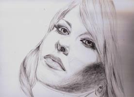 Portrait of Avril Lavigne by David-TTG