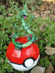The legendary dragon: Rayquaza