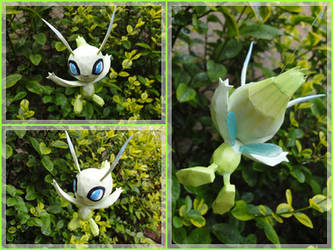 The legendary fairy pokemon: Celebi by BRSpidey