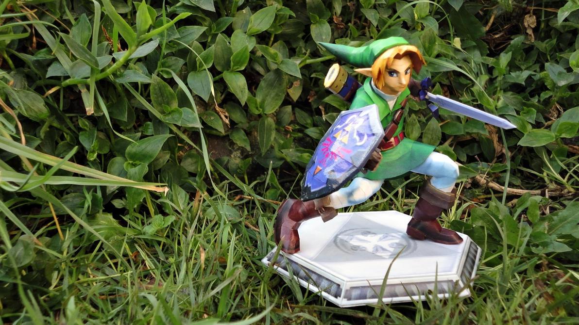 The Legend Of Zelda: Link Papercraft by BRSpidey
