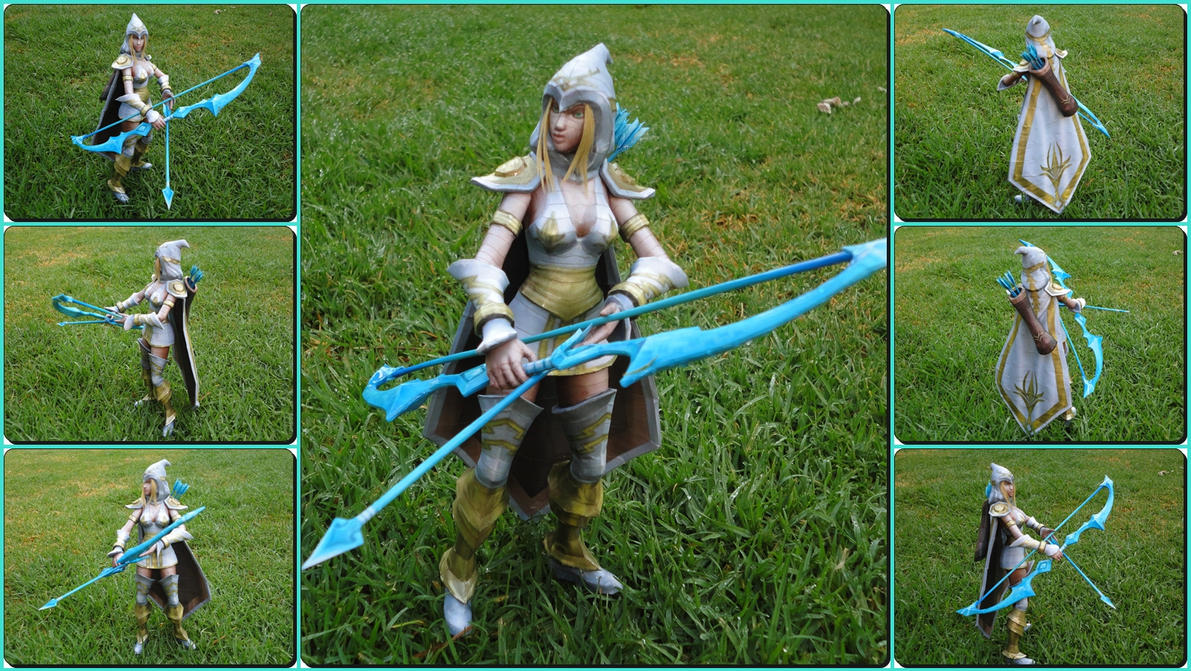 League of Legends: Ashe Freljord Skin by BRSpidey
