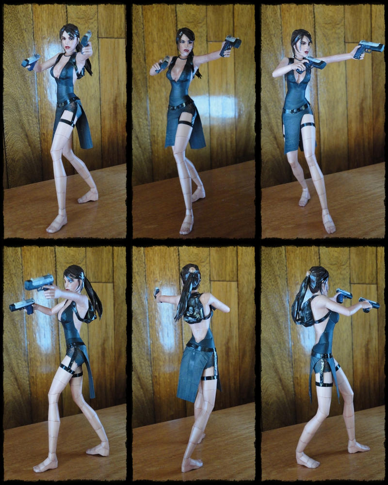 Lara Tokyo dress Papercraft by BRSpidey