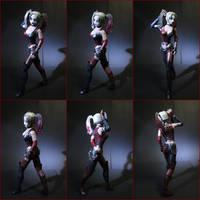Harley Quinn [Arkham] papercraft by BRSpidey