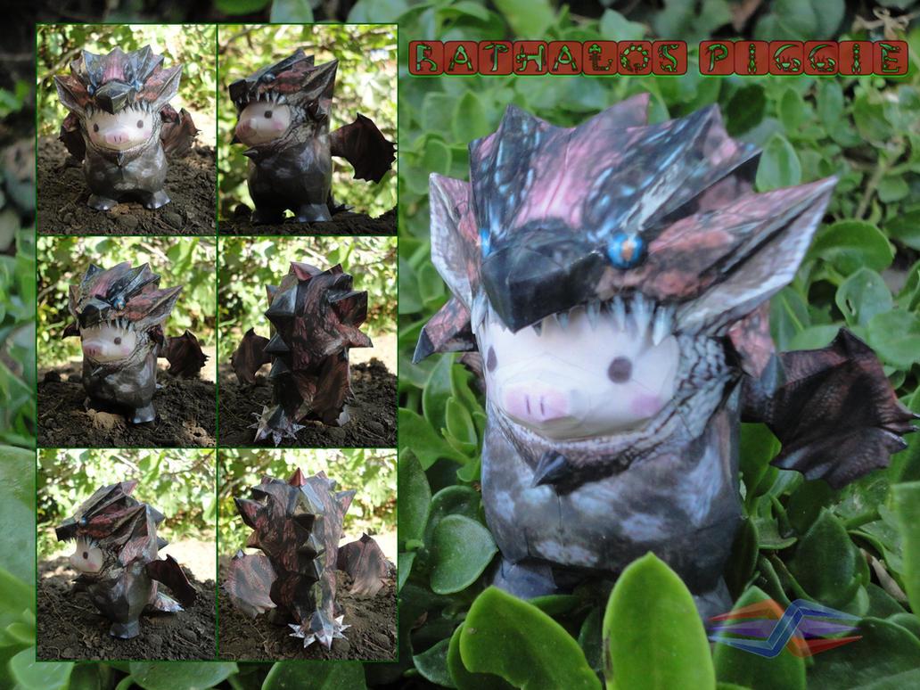 Rathalos Piggie by BRSpidey