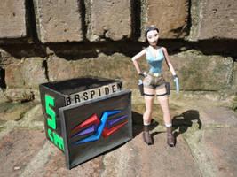 Lara Croft TR2 (size comparizon) by BRSpidey